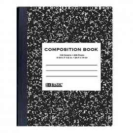 Wide Composition Book